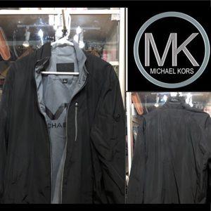 NWT Michael Kors Tech Faille Jacket